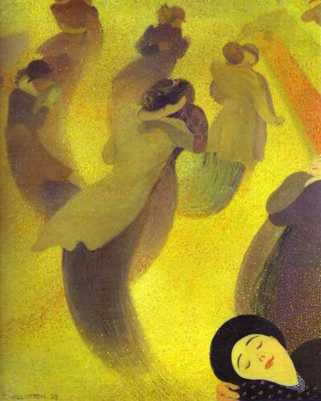 Felix Vallotton, The Waltz, 1893