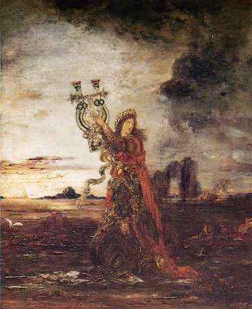 Gustave Moreau, Arion, 1891