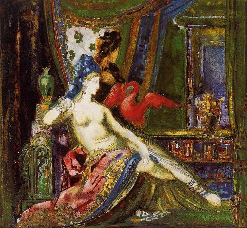 Gustave Moreau, Dalila, 1890