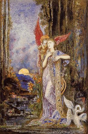Gustave Moreau, Inspiration, 1893