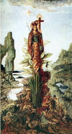 Gustave Moreau, Mystic Flower, 1890