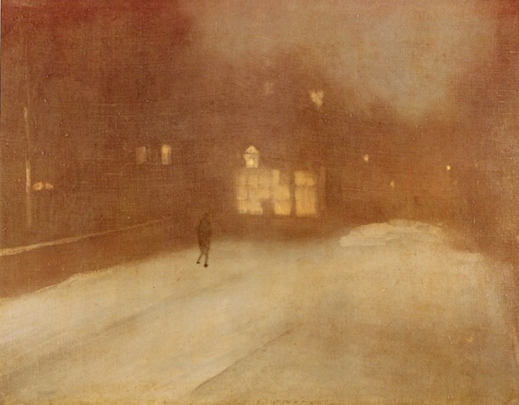 James Whistler, Nocturne Grey and Gold