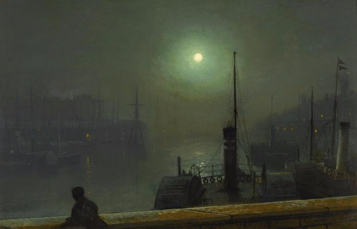 John Atkinson Grimshaw, On The Clyde, Glasgow