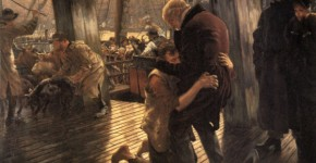 Joseph Tissot, The Prodigal Son In Modern Life