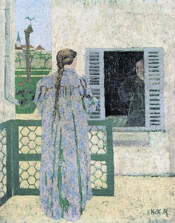 Ker-Xavier Roussel, Conversation, 1891-93