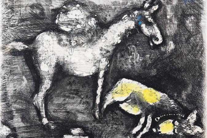 Marc Chagall, Fabl, La Fontaine