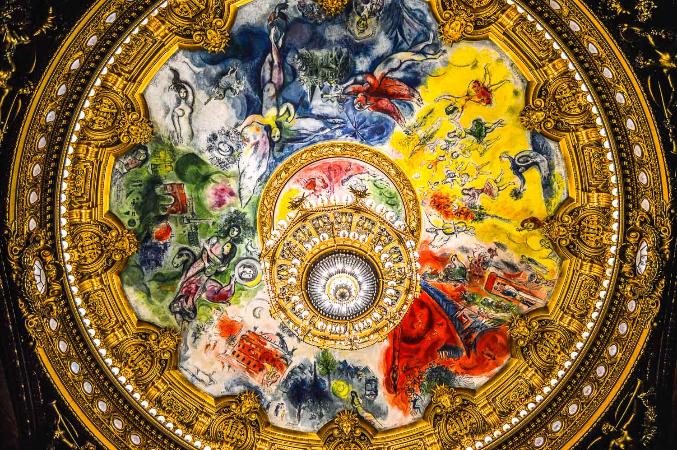 Marc Chagall, Opera Garnier Ceiling, 1964