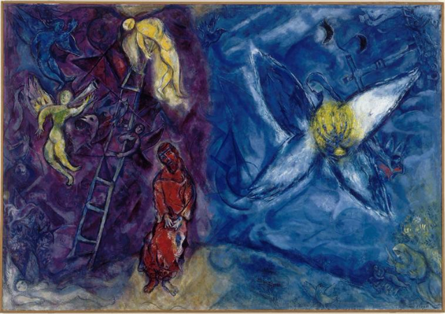 Marc Chagall, The Jacob's Dream, 1954