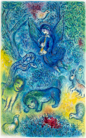 Marc Chagall, The Magic Flute, 1967