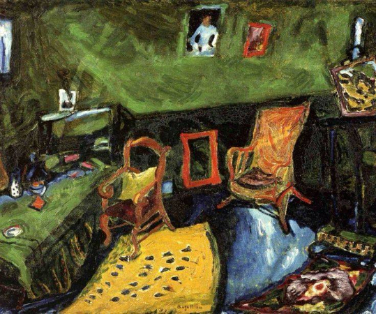 Marc Chagall, The Studio, 1910