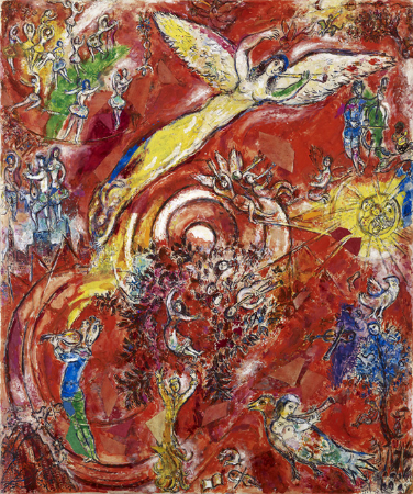 Marc Chagall, The Triumph of Music, 1967