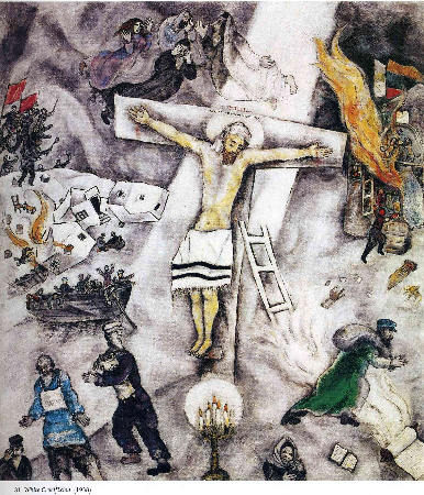 Marc Chagall, The White Crucifixion, 1938