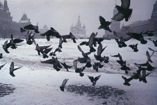 Marc Riboud, Moskova, 1960