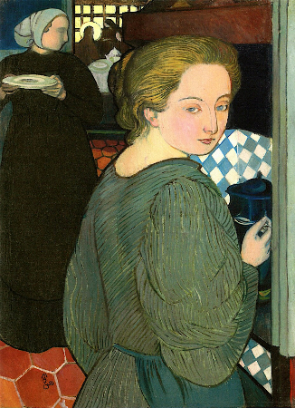 Maurice Denis, La Cuisiniere, 1893