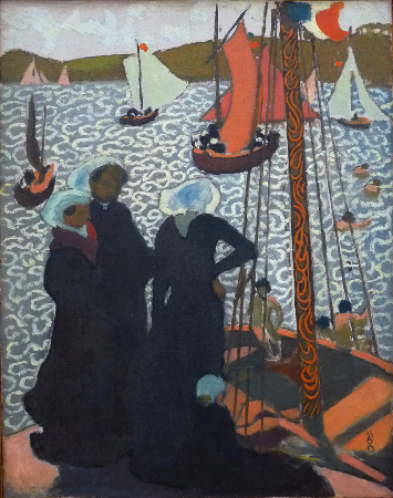 Maurice Denis, Regatta at Perros Guirec, 1892