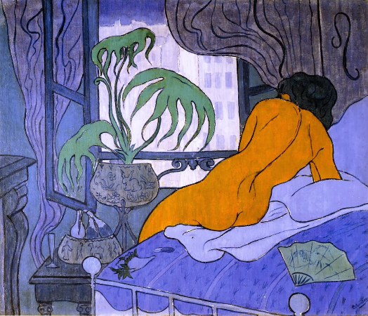 Paul Ranson, Blue Room, 1891