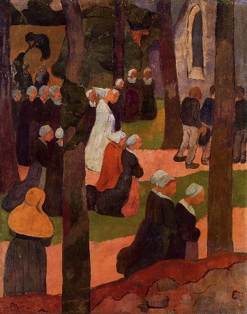 Paul Serusier, A Breton Sunday, 1890
