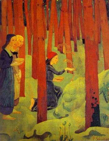 Paul Serusier, L'Incantation ou Le Bois Sacre, 1891