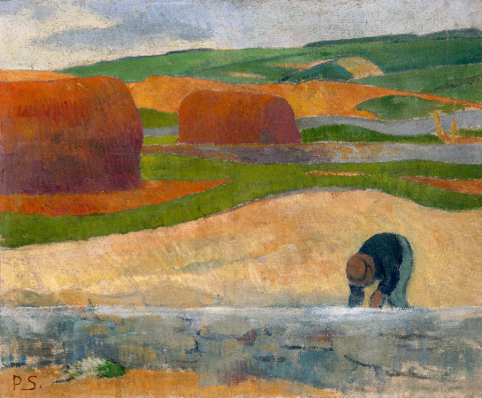 Paul Serusier, Seaweed Gatherer, 1889