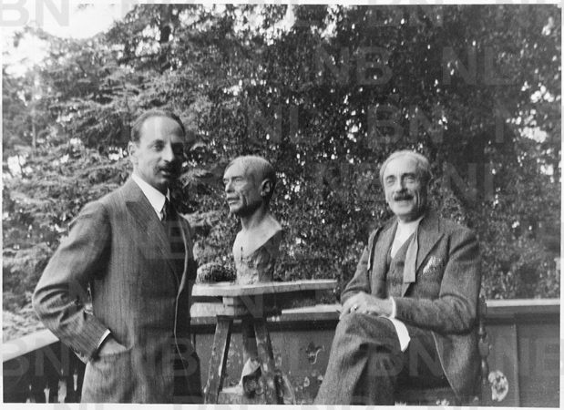 Paul Valery ve Rilke, 1926