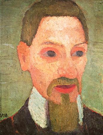 Paula Modersohn-Becker, Portrait of Rainer Maria Rilke, 1906