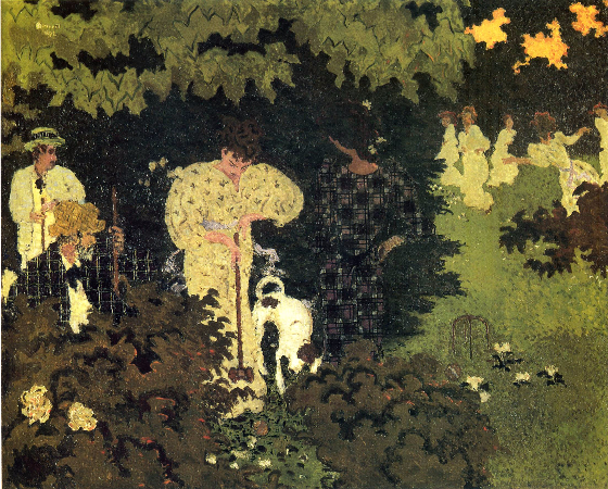 Pierre Bonnard, Dusk, or A Round of Croquet, 1892