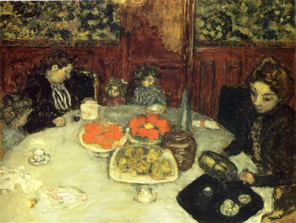 Pierre Bonnard, The Luncheon, 1899