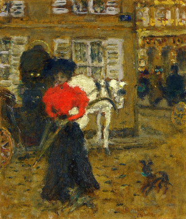 Pierre Bonnard, Woman On The Street, 1894