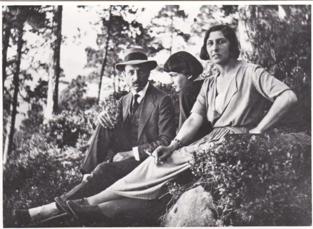 Rainer Maria Rilke, sevgilisi Baladine Klossowska ve onun oğlu ressam Balthasar Klossowski de Rola