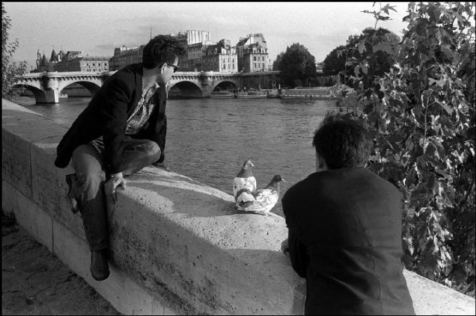Richard Kalvar, Fransa, 1990