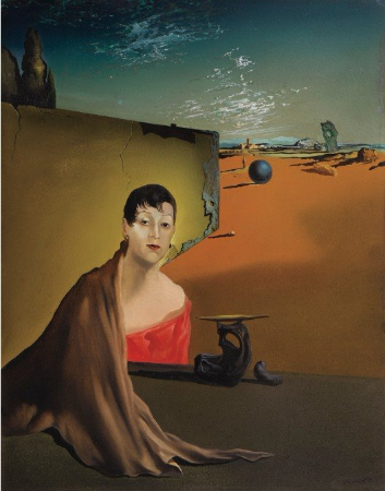 Salvador Dali, Portrait de Madame Ducas, 1935