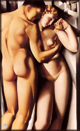 Tamara de Lempicka, Adam and Eve, 1932