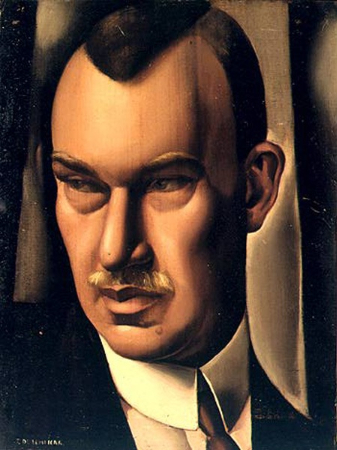 Tamara de Lempicka, Portrait of Baron Kuffner, 1932