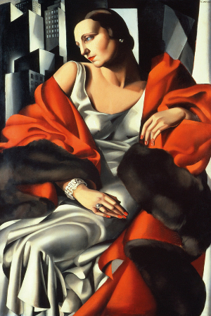 Tamara de Lempicka, Portrait of Madame Boucard, 1931