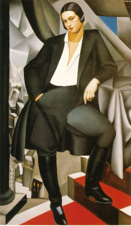 Tamara de Lempicka, Portrait of the Duchess of La Salle, 1925