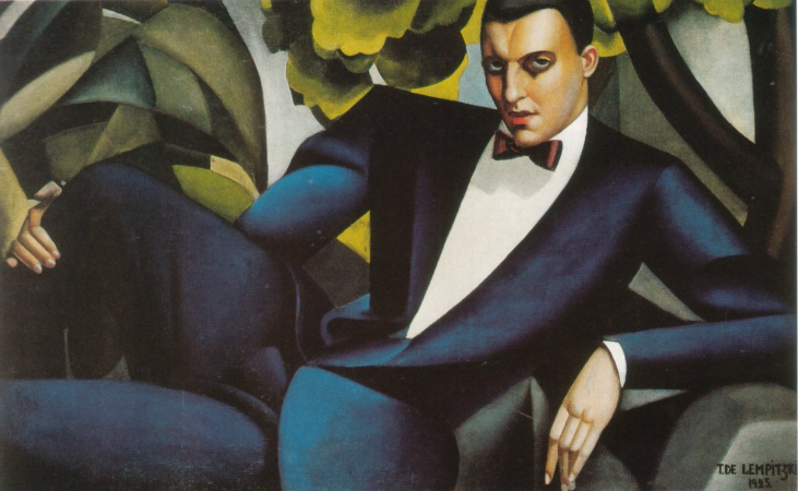 Tamara de Lempicka, Portrait of the Marquis d'Afflitto, 1925