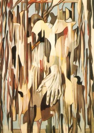 Tamara de Lempicka, Surrealist Hand, 1947