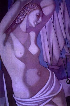 Tamara de Lempicka, The Blue Hour III, 1966