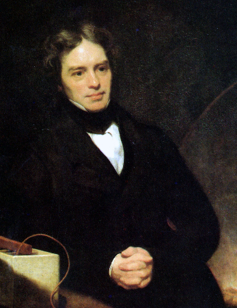 Thomas Phillips, Portrait of Michael Faraday, 1842