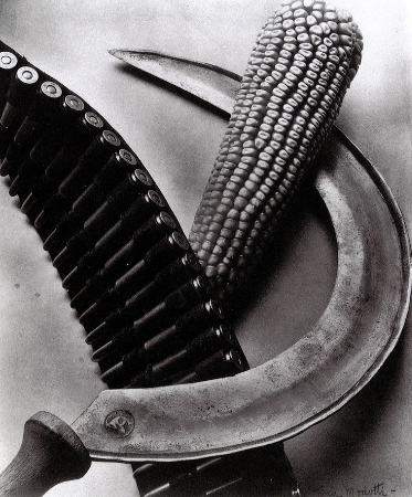 Tina Modotti, Bandolier and Sickle, Mexico, 1927