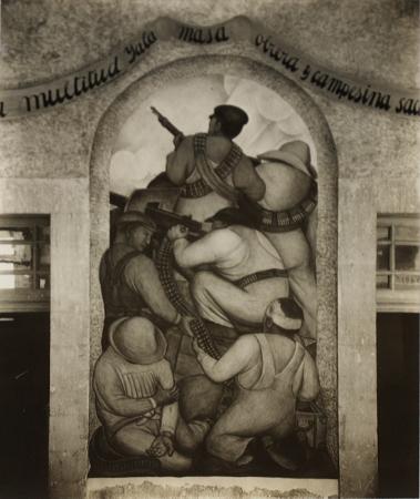 Tina Modotti, Diego Rivera duvar resmi