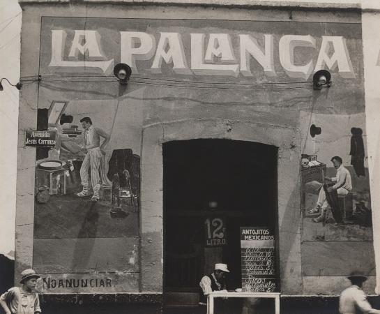 Tina Modotti, Exterior of Pulqueria, Mexico, 1926