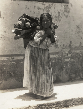 Tina Modotti, Woman Carrying Load of Wood, 1929