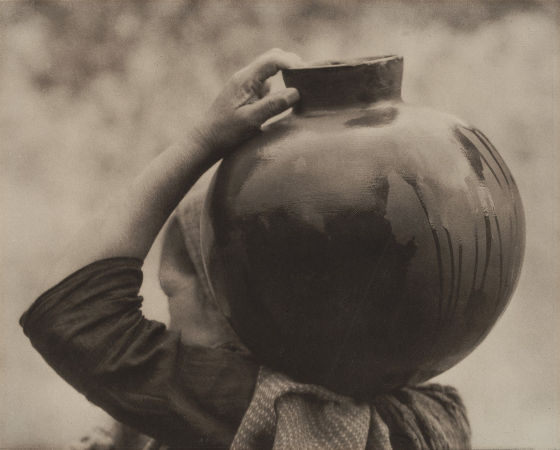 Tina Modotti, Woman With Olla, 1926