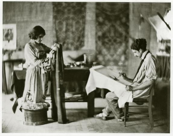 Tina Modotti ve Roubaix de l'Abrie Richey, 1921
