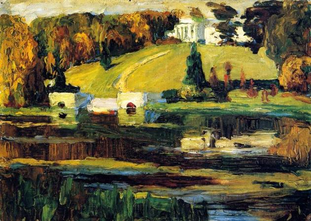 Wassily Kandinsky, Akhtyrka, Autumn, 1901