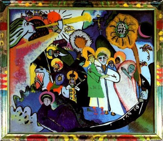 Wassily Kandinsky, All Saints I, 1911