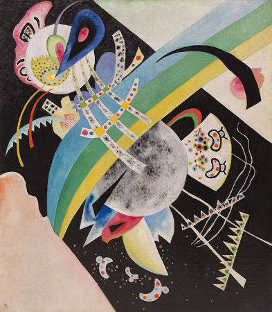 Wassily Kandinsky, Circles On Black, 1921