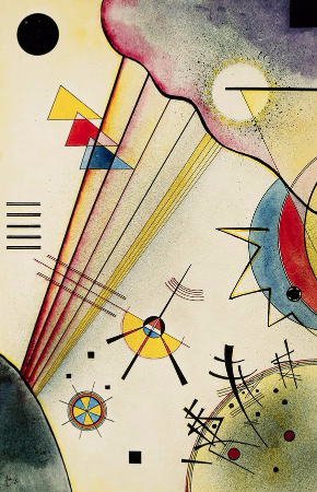 Wassily Kandinsky, Clear Connection, 1925