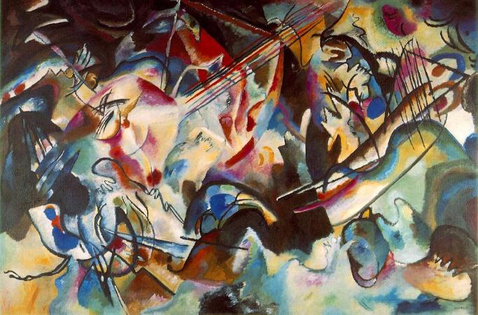 Wassily Kandinsky, Composition VI, 1913